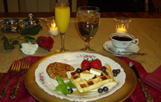 The Golden Oak Inn Breakfast