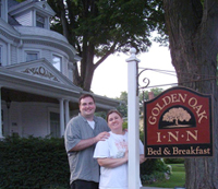 Will and Debbie Hawrylo - Owners of The Golden Oak Inn